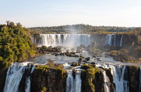 Iguazu: Argentina and Brazilian Falls